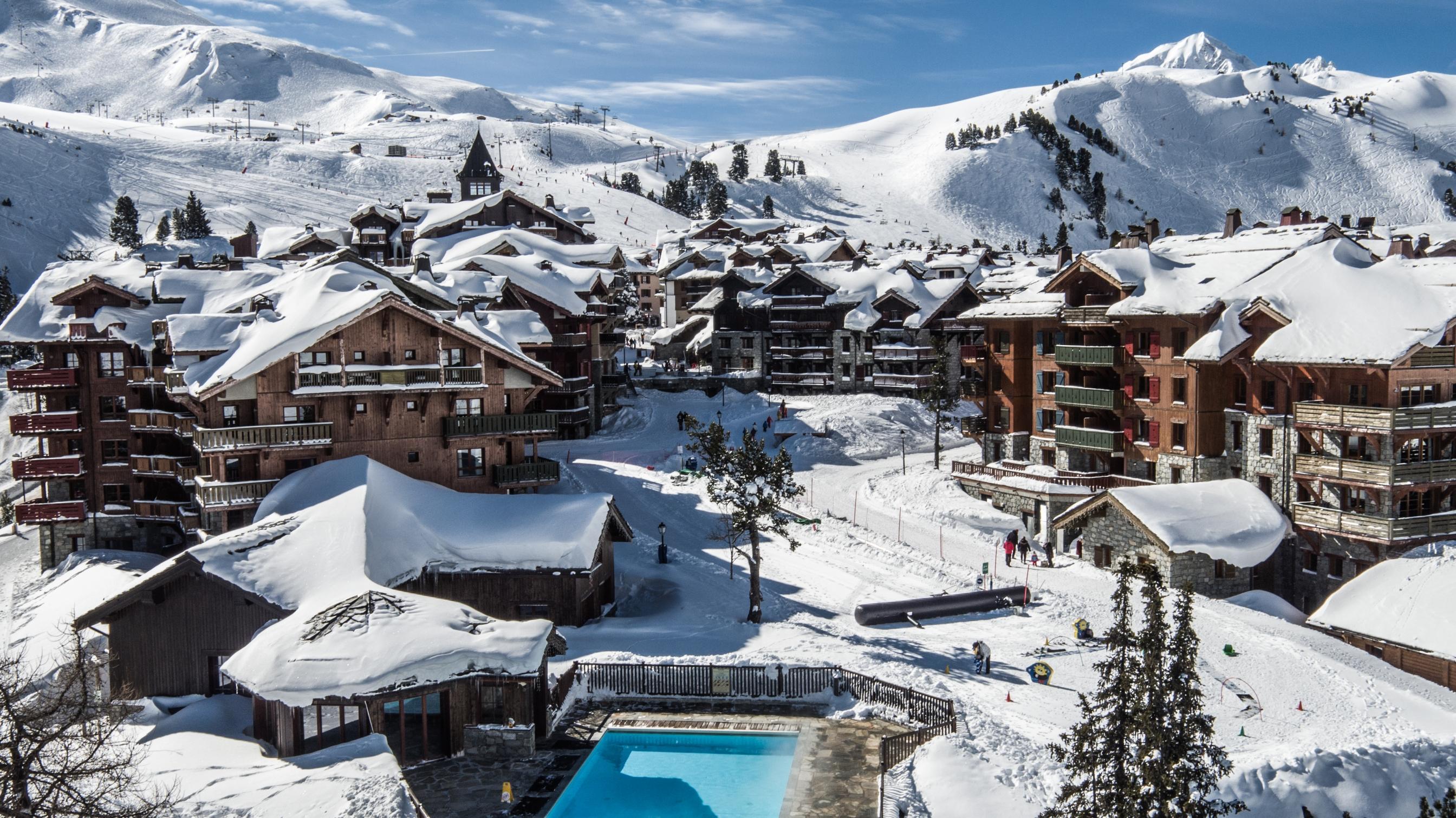 Les Arcs 1950 ski resort France