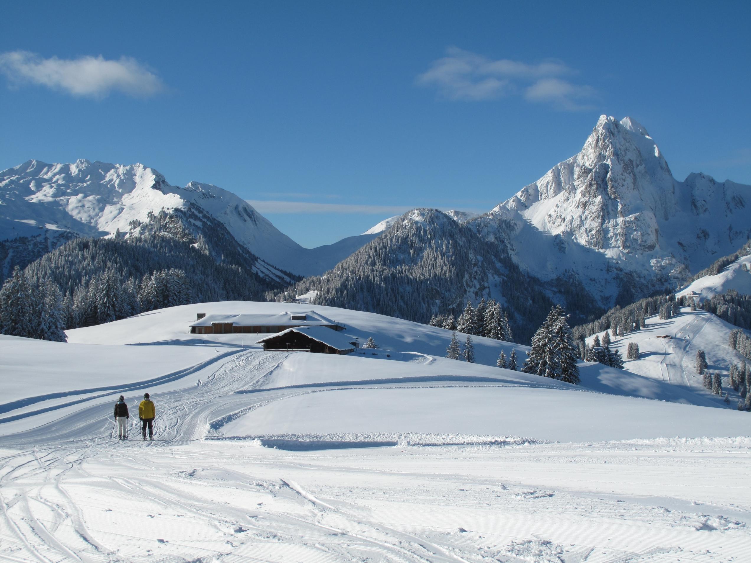 Gstaad Ski Resort Switzerland