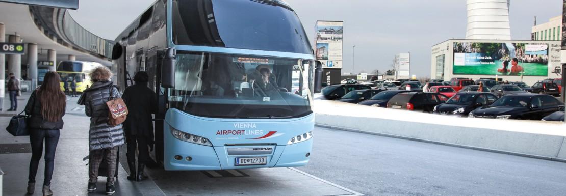 Vienna Airport Lines Bus, Vienna Airport