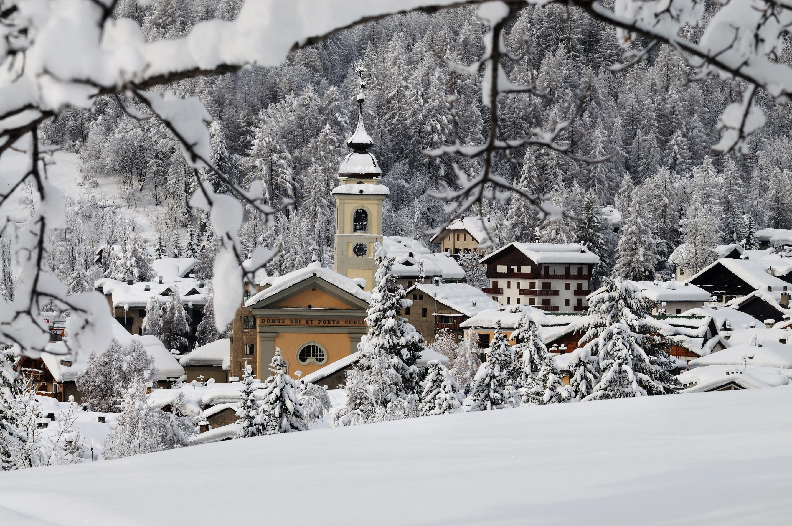 Bardonecchia Old Town ski resort Italy