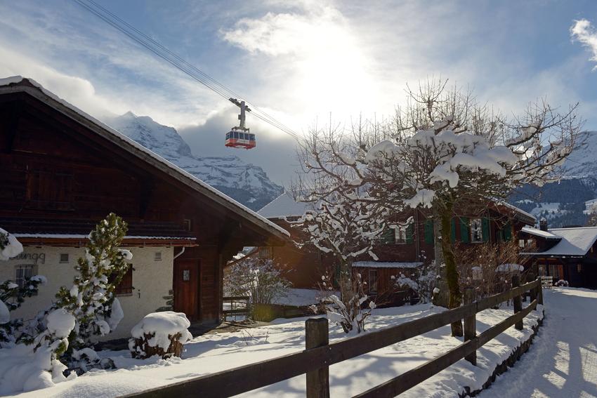 Wengen, Jungfrau Region, Switzerland