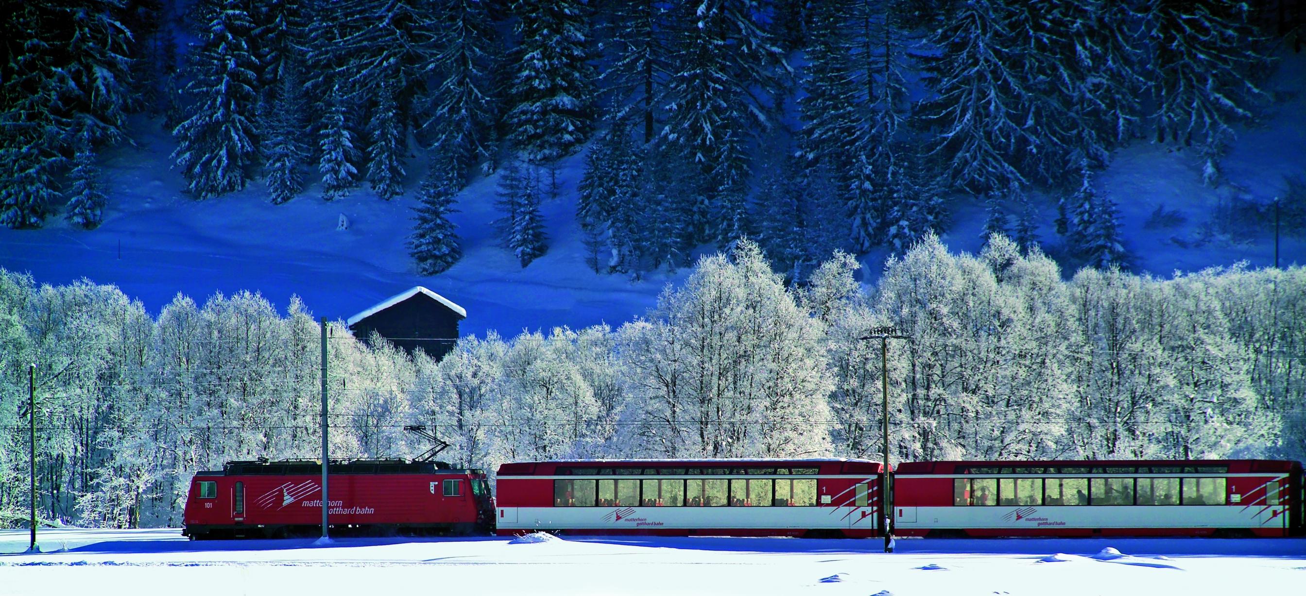 Rail Matterhorn Gotthard Bahn
