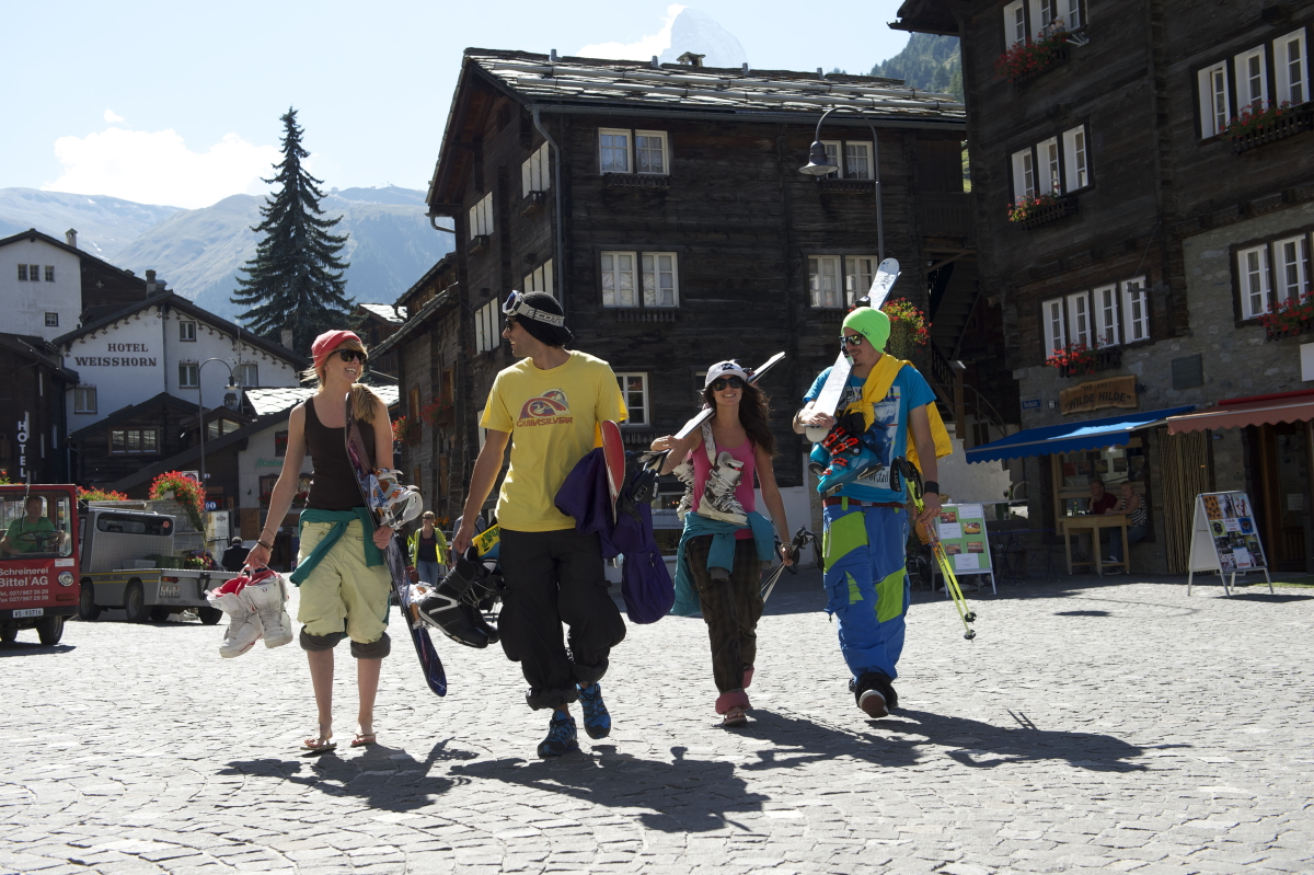 Oberstdorf -one of the cheapest resorts to get to by train